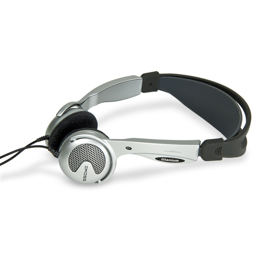 Traditional-Style Headphones for E-Scope