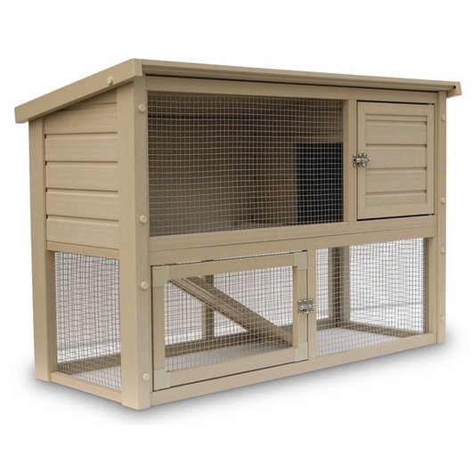 ecoFLEX™ Columbia Rabbit/Small Animal Hutch