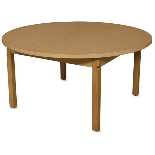 Wood Designs™ High-Pressure Laminate Table - Round - 48 in. dia. x 25 in. H