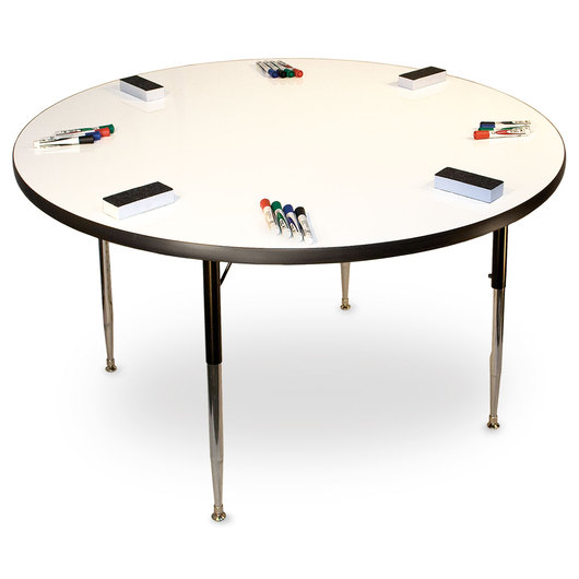 Allied MarkerBoard™ Table - Circle 48 in.