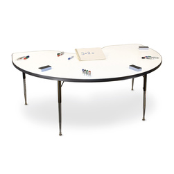 Allied MarkerBoard™ Table - Kidney Shaped 36 in. x 72 in.