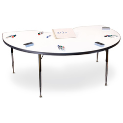 Allied MarkerBoard™ Table - Kidney Shaped