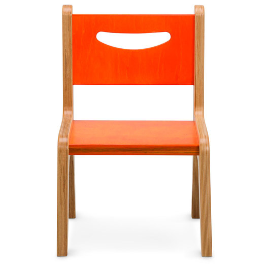 Whitney Plus 10 in. H Chair - Hot Pumpkin