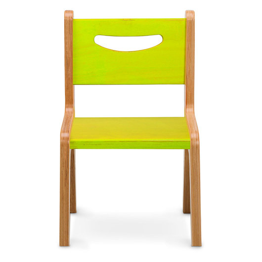 Whitney Plus 10 in. H Chair - Electric Lime