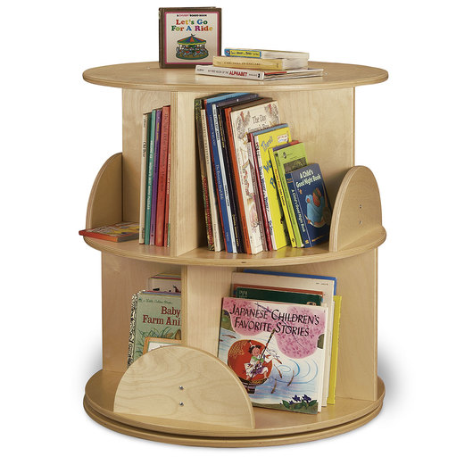 Whitney Brothers® Two-Level Carousel Book Stand
