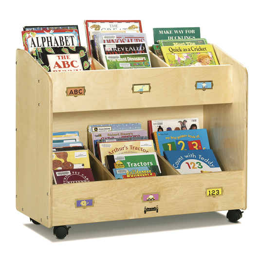 6-Section Book Organizer