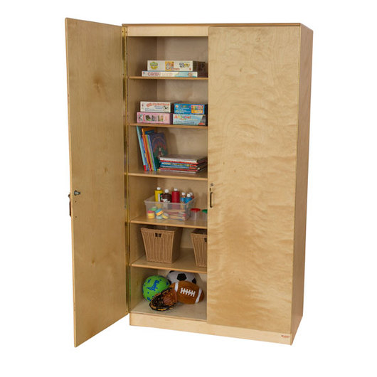 Wood Designs™ Space-Saving Resource Cabinet