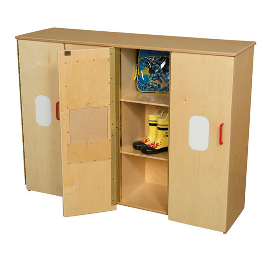 Wood Designs™ Toddler Cubby Storage