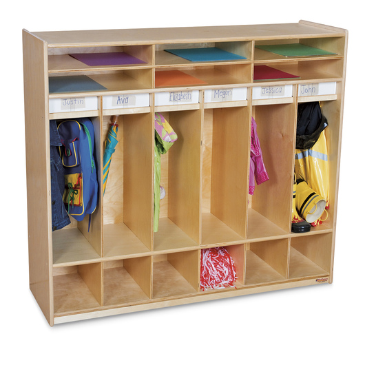 Wood Designs™ Open Shelf Locker
