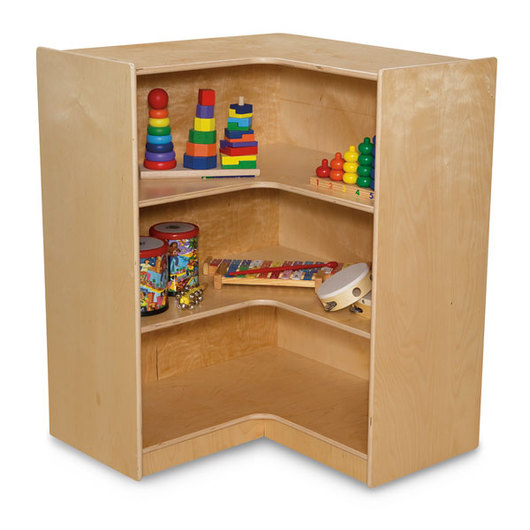 Wood Designs™ Corner Storage (38 H.)