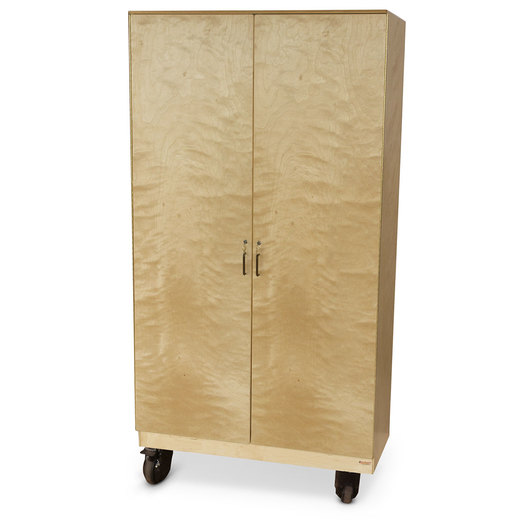 Wood Designs™ Teacher's Locking Wardrobe Cabinet