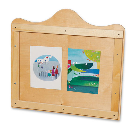Wood Designs™ Scalloped Wall Display