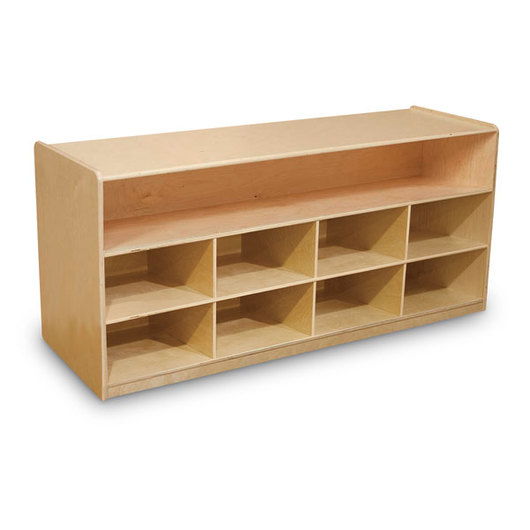 Wood Designs™ Mobile Low Storage Unit (Without Trays)