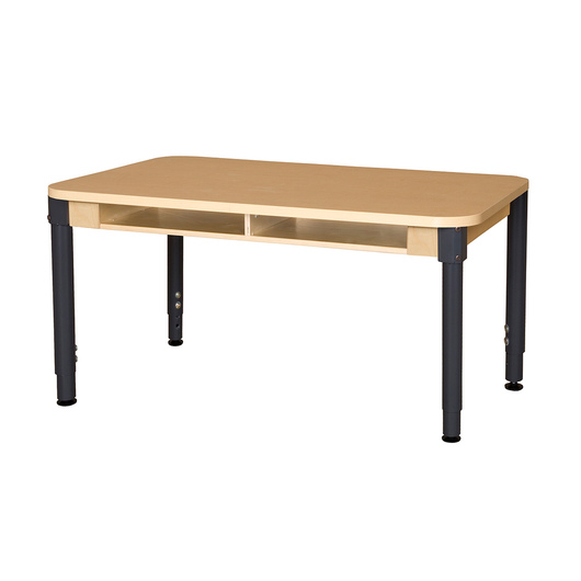 Wood Designs™ High-Pressure Laminate Desk - 18 in. L x 48 in. W with Adjustable Legs