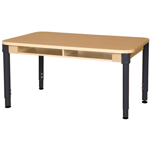 Wood Designs™ High-Pressure Laminate Desk - 36L x 48W with Adjustable Legs
