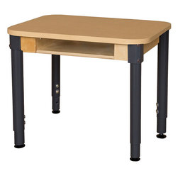 Wood Designs™ High-Pressure Laminate Desk
