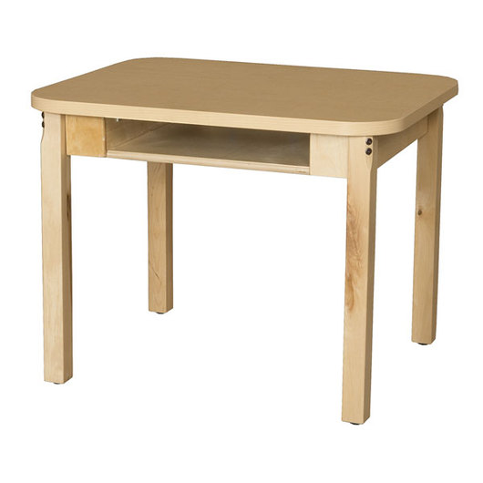 Wood Designs™ High-Pressure Laminate Desk - 18 in. L x 24 in. W x 23 in. H