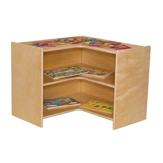 Wood Designs™ Corner Storage - 23-1/2 in. H