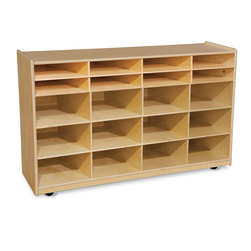 Wood Designs Bin Storage Unit Without Trays