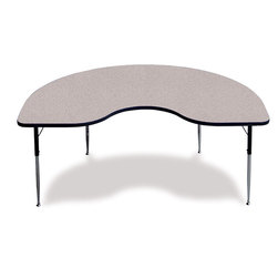 Allied F5 Series Kidney-Shaped Table