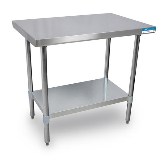 Stainless Steel Table - 36 in. W x 30 in. D x 35 in. H