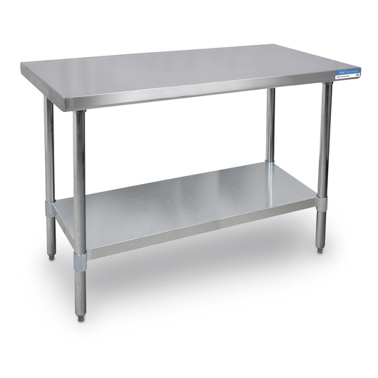 Stainless Steel Table In W X In D X In H Stainless - Stainless steel table accessories