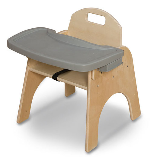 Wood Designs™ 11 in. Seat Height Woodie with Adjustable Tray