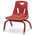 Berries® Stacking Chair - Red - 8 in. H Seat