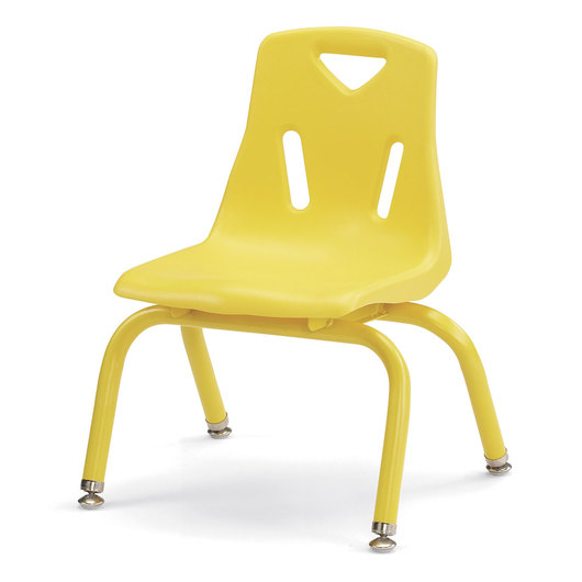 Berries® Stacking Chair - Yellow - 10 in. H Seat