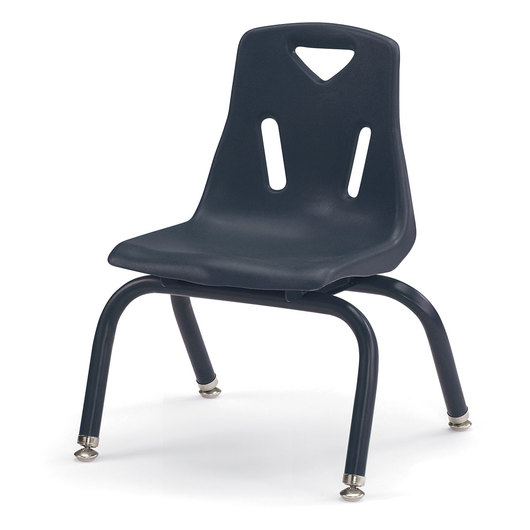 Berries® Stacking Chair - Navy - 10 in. H Seat