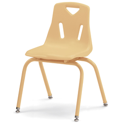 Berries® Stacking Chair - Camel - 16 in. H Seat