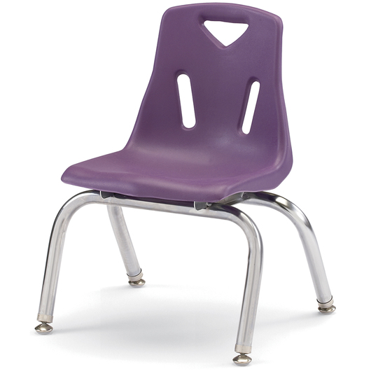 Berries® Stacking Chair - Purple - 10 H Seat