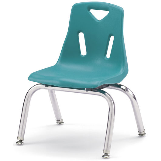 Berries® Stacking Chair - Teal - 10 H Seat