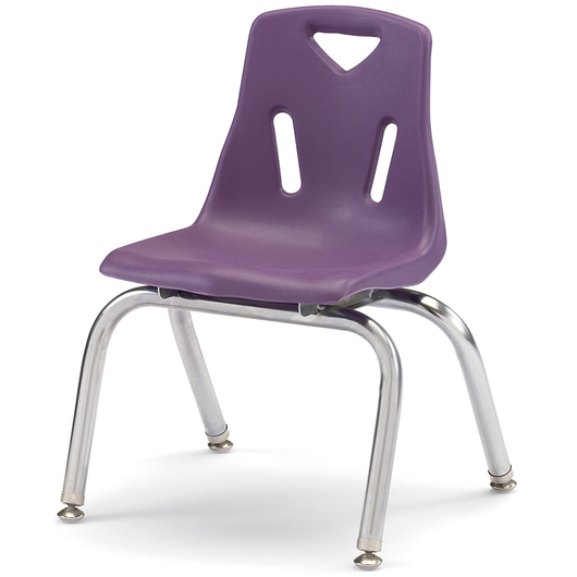 Berries® Stacking Chair - Purple - 12 in. H Seat