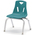 Berries® Stacking Chair - Teal - 12 in. H Seat