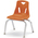 Berries® Stacking Chair - Orange - 12 in. H Seat