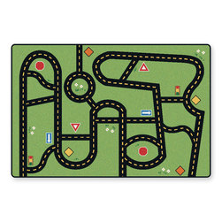 Drive & Play Accent Rug