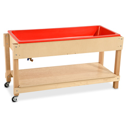 Wood Designs™ Large Sand and Water Table with Cover/Shelf