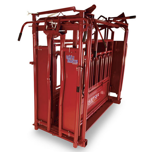 CattleMaster Series 6 Heavy-Duty Squeeze Chute with Automatic Head Gate - 1,700 lb. Capacity