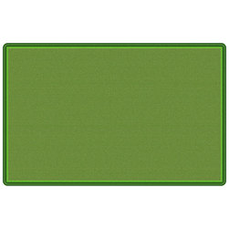 Flagship Carpet - All-Over Weave - Green - 7 ft. 6 in. x 12 ft.