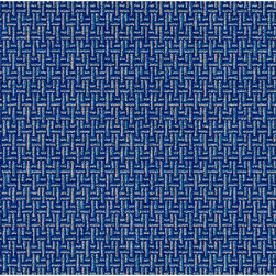 Flagship Carpet - All-Over Weave - Blue 5 ft. 10 in. x 8 ft. 4 in.