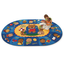 Sign Say & Play Rug - Oval