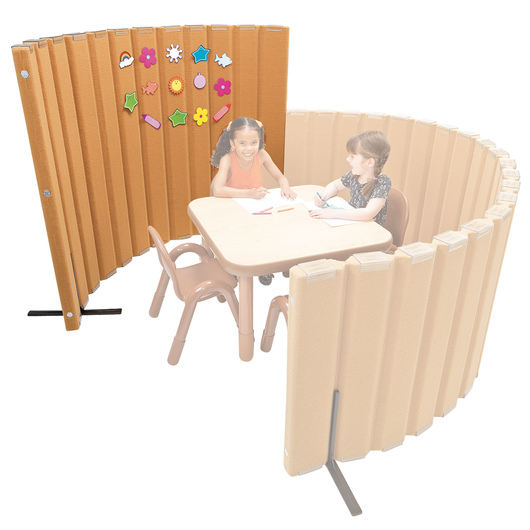 Angeles® Sound Sponge® Quiet Divider® - 48 in. x 6 ft. - Natural Tan