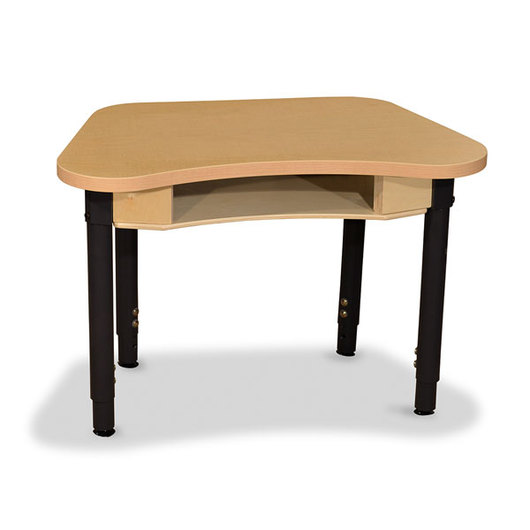 Wood Designs™ Synergy High Pressure Laminate Desk - 18 in. x 30 in. with 18 in.-29 in. Adjustable Legs