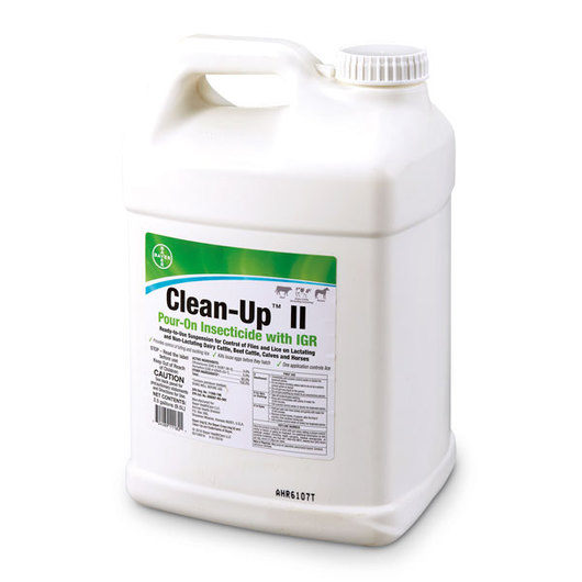 Clean-Up™ II Pour-On Insecticide with IGR - 2-1/2 Gallons
