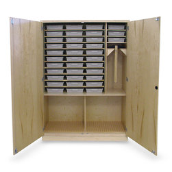 Tote Tray Drawing Cabinet for 36 Students