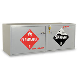 SciMatCo Combination Acid/Flammables Modular Stacking Cabinet