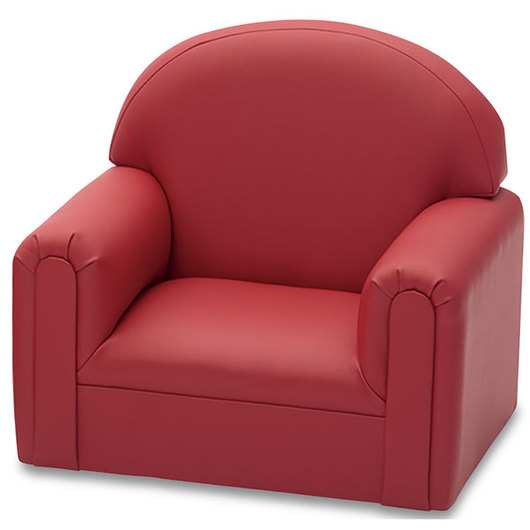 Toddler Enviro-Child Upholstery Chair - 22 in. L x 16 in. D x 19 in. H - Deep Red