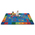 KIDSoft™ Premium Collection Alphabet Around Literacy Rug - Rectangle - 4 ft. x 6 ft.