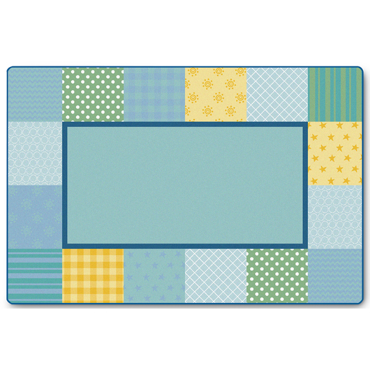 KIDSoft™ Premium Collection - Pattern Blocks - Soft - Rectangle - 4 ft. x 6 ft.